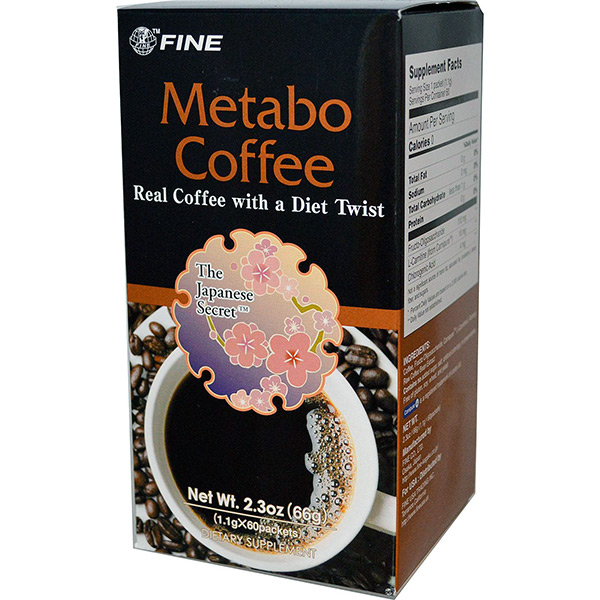 Fine-USA-Trading-Inc.,-Metabo-Coffee,-60-Packets,-(1