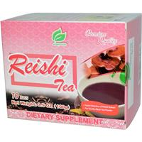 Longreen Corporation, Reishi Tea, 10 Bags, 3.5 oz (100 g)