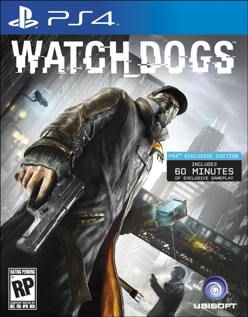 Pre-order | High Score Blog Watch Dogs Ps4 Box Art