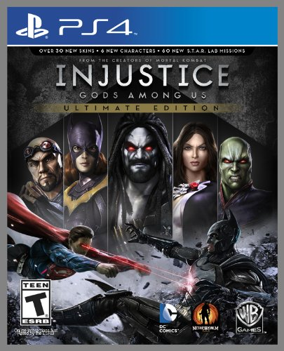 Injustice Gods Among Us Ultimate Edition_playstation_4_ps4_cover_art