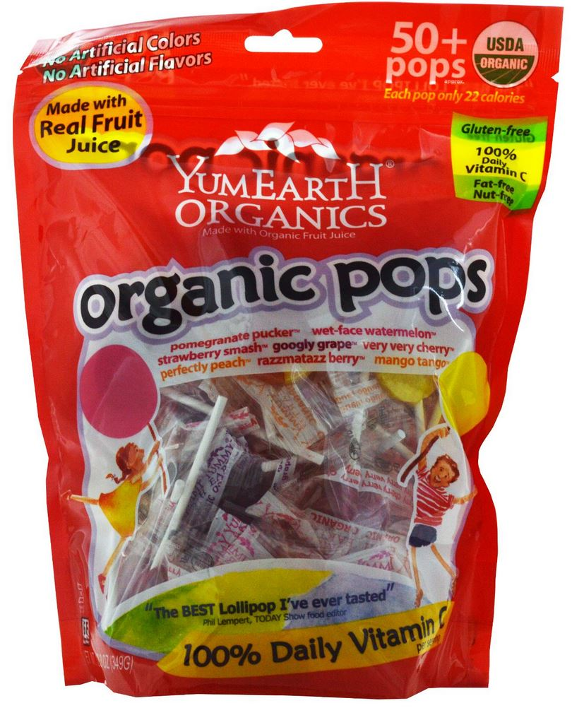 organic pops from iherb