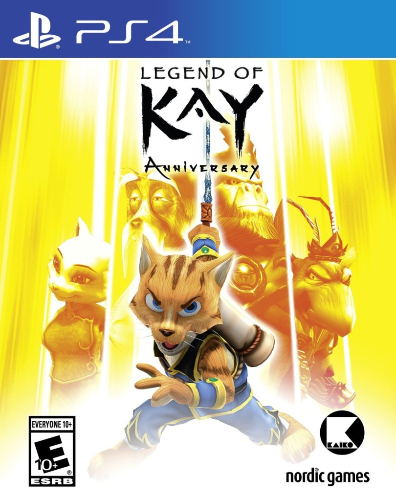 Legend of Kay anniversary HD-ps4-playstation-4-cover-art