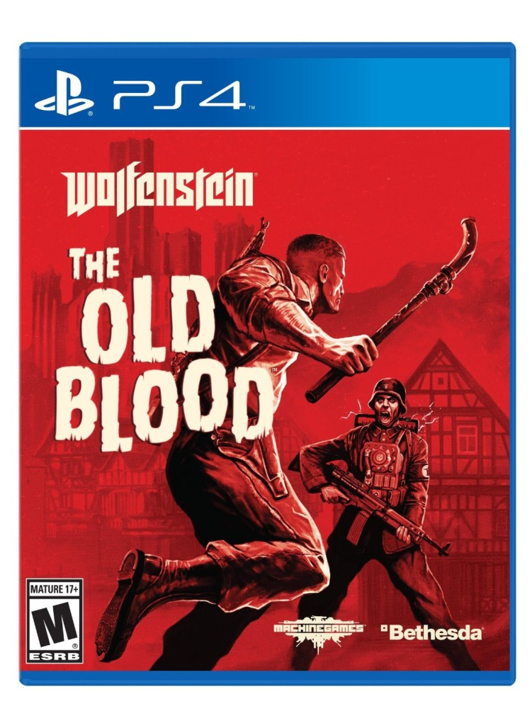 Wolfenstein-The-Old-Blood-Playstation-4-ps4-game-cover-art