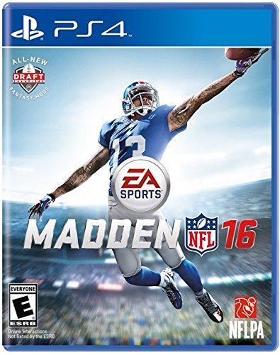 EA Madden NFL 16 - 2016 - playstation 4 - ps4