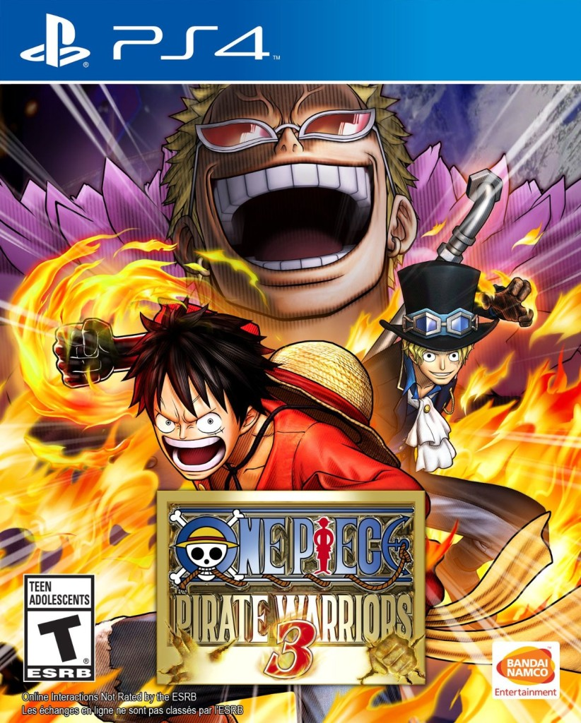 One Piece Pirate Warriors 3 - playstation 4 - ps4