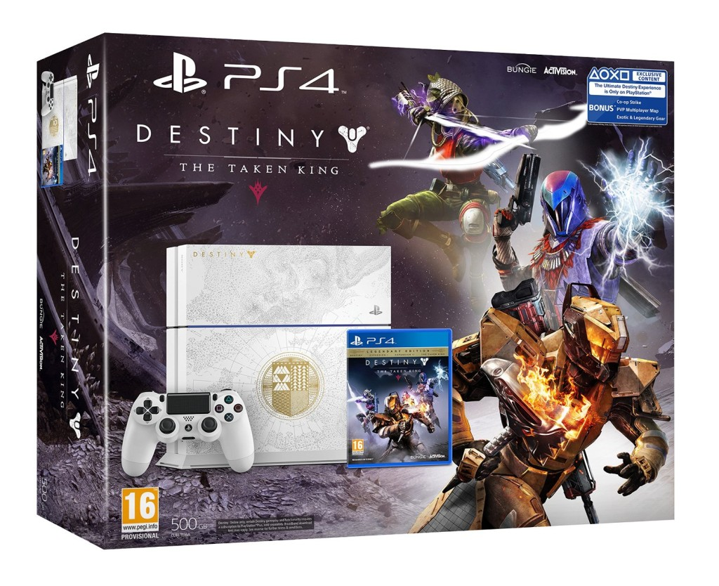 Sony PlayStation 4 Limited Edition with Destiny 1