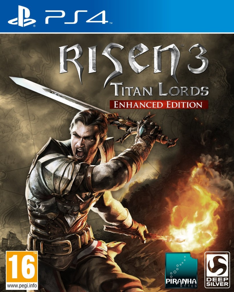 risen 3 titan lords - enhanced edition - ps4 - playstation 4