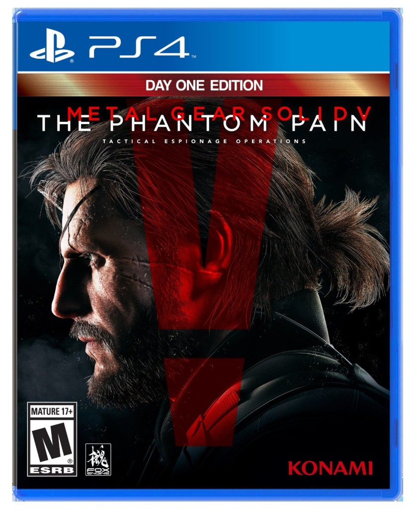 Metal Gear Solid V The Phantom Pain ps4