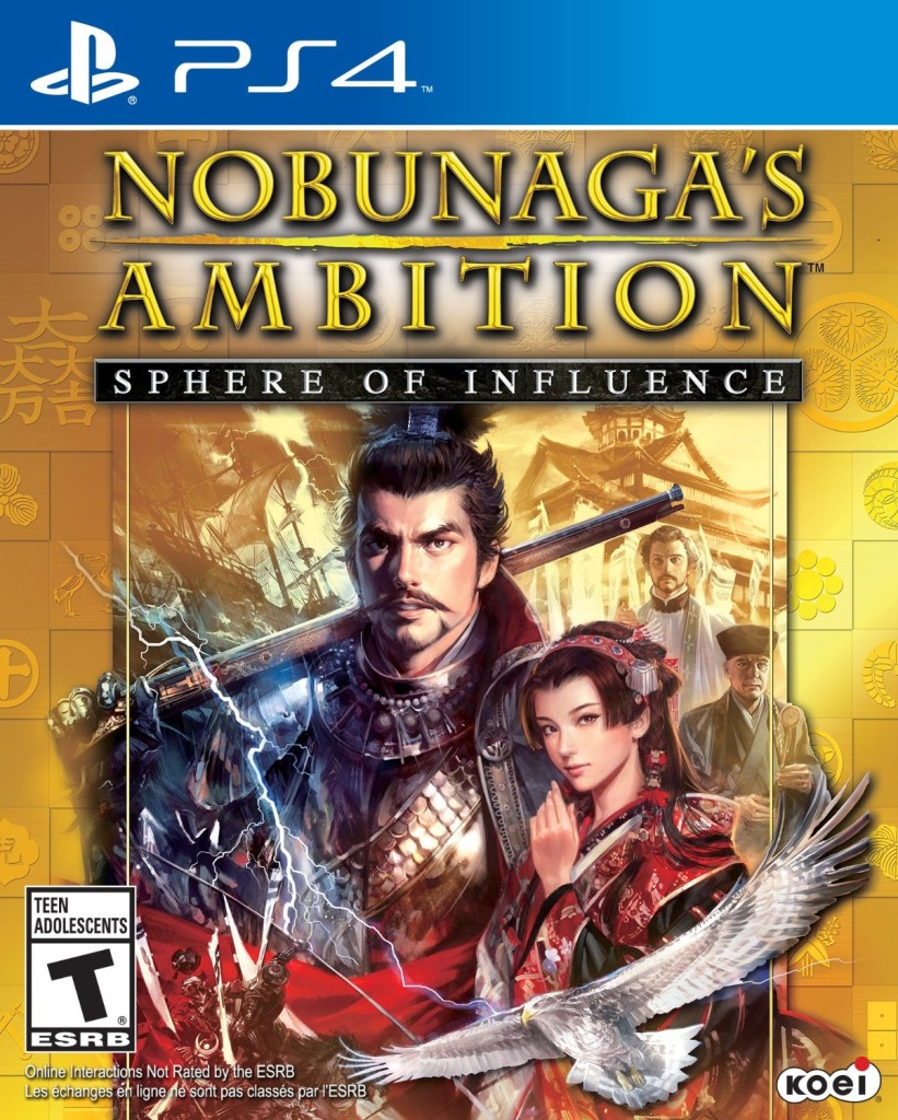 Nobunaga s Ambition Sphere of Influence-ps4-cover