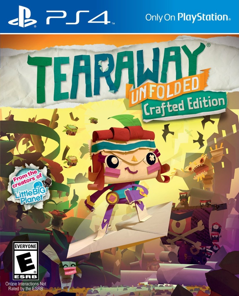 Tearaway Unfolded ps4._