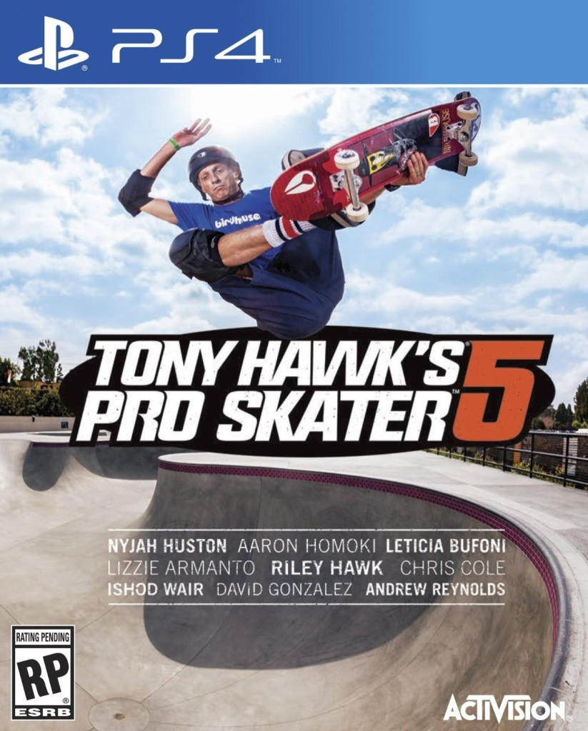 Tony Hawk s Pro Skater 5 ps4