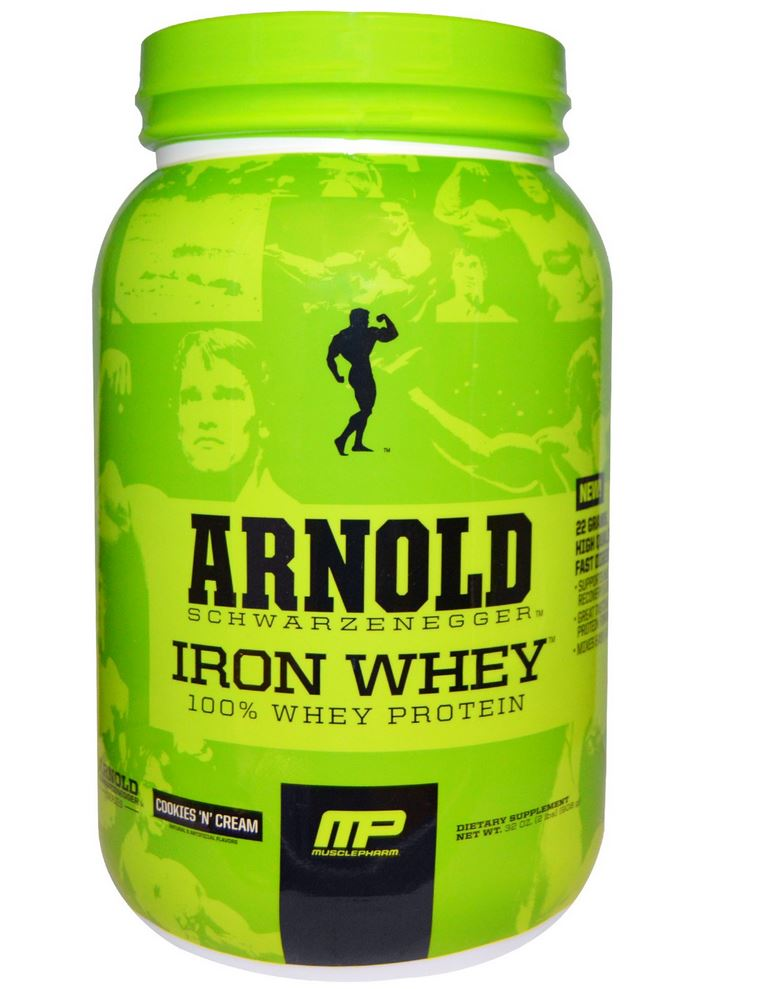 Arnold, Iron Whey, Cookies'N' Cream, 32 oz (908 g)