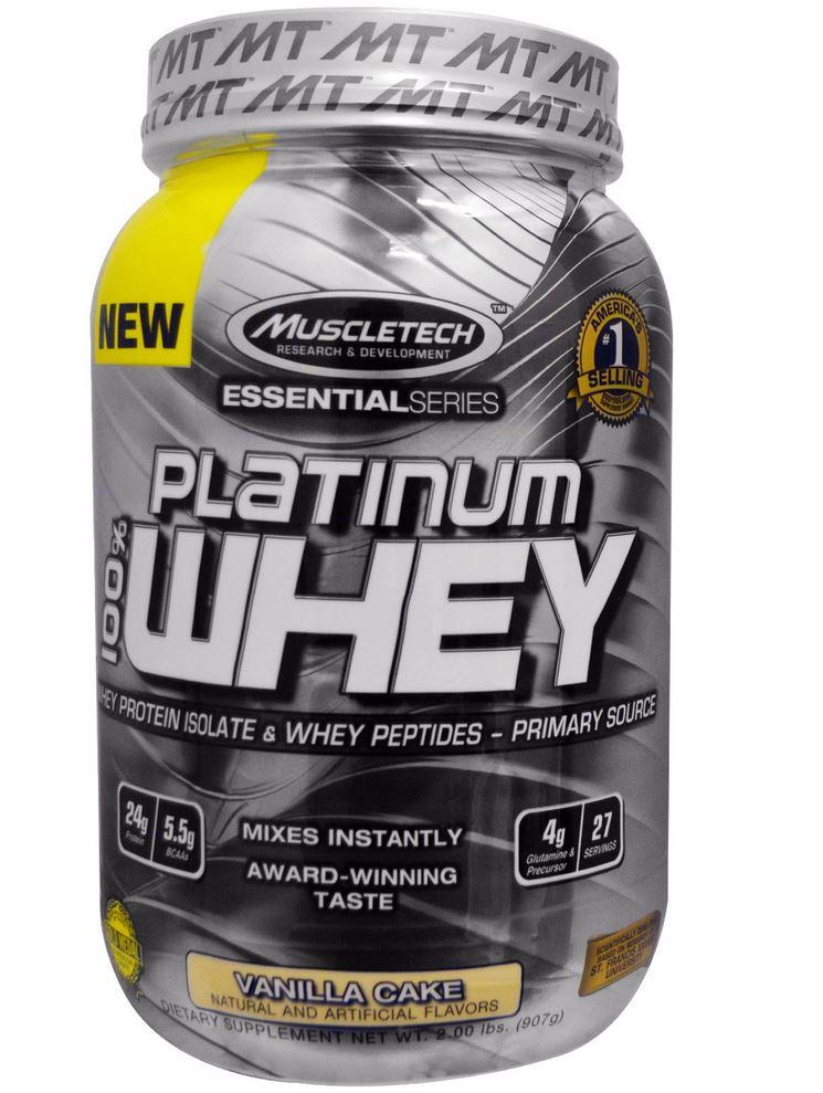 Muscletech Platinum Whey Vanilla Cake