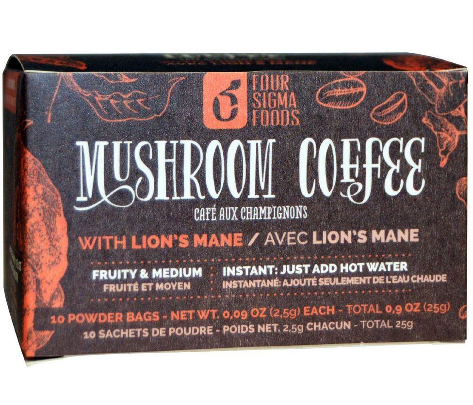 mushroom coffee four sigma foods