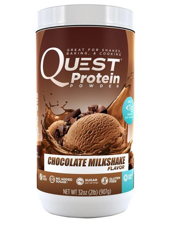 quest nutrition protein powder milkshake flavor