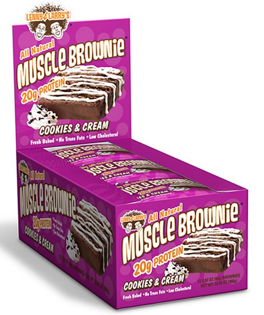 lenny and larrys muscle brownie cookies and cream