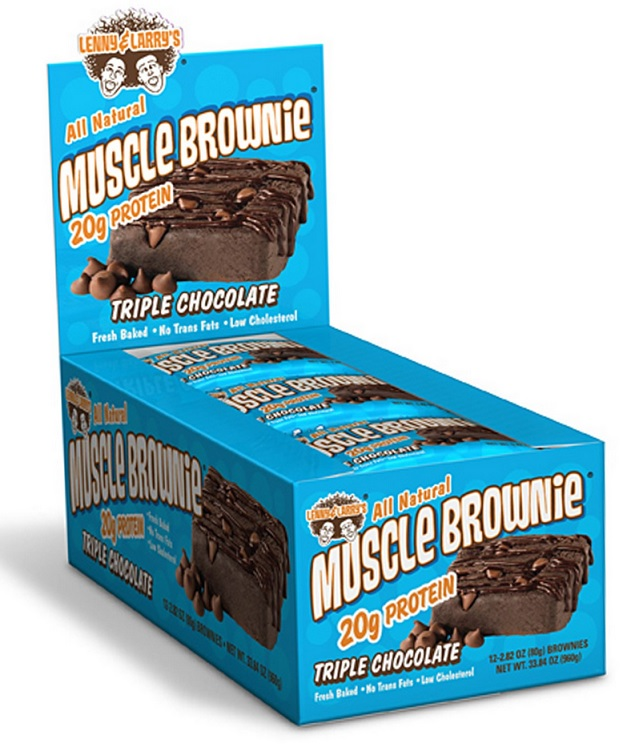 lenny and larrys muscle brownie triple chocolate