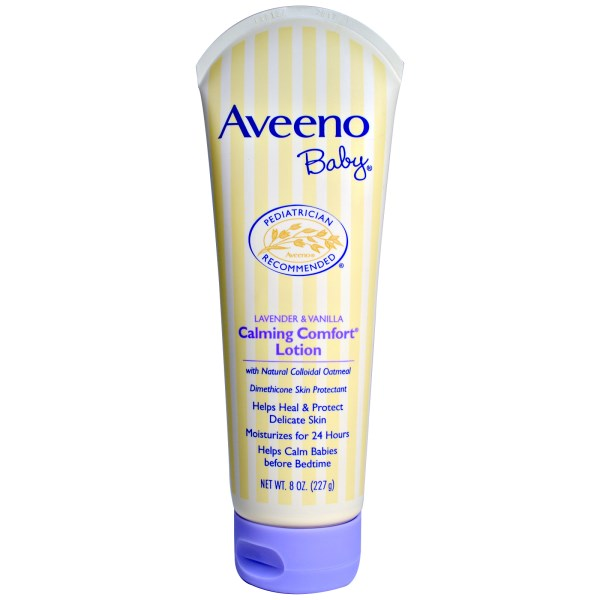 Aveeno, Baby Calming Comfort Lotion, Lavender & Vanilla, 8 oz (227 g)