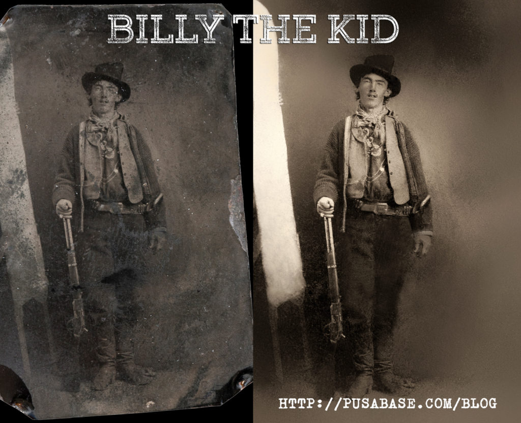 Billy The Kid Photo Restoration