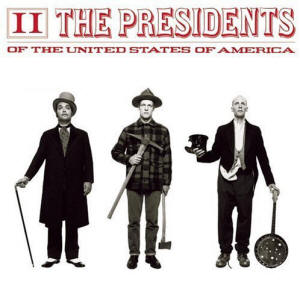 The Presidents Of The United States Of America - II album art (PUSA)