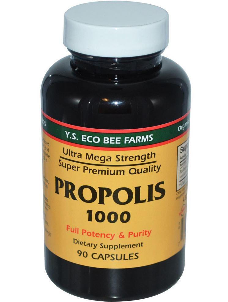 Eco Bee Farms Propolis 1000 90 Capsules