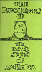 presidents of the usa - pusa - froggystyle (demo) - froggy style - lyrics