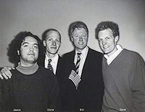 1994 Photo of Presidents Of The USA / PUSA meeting Bill Clinton