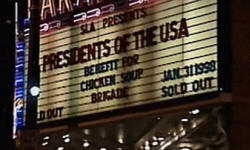 1998 - Presidents Of The USA / PUSA - Last show at the  Paramount theater