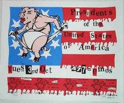 Poster 1995 - PUSA / Presidents Of The USA