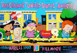 Poster - 97 - Fillmore - Tour - Presidents Of the USA / PUSA