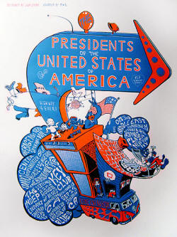 Poster - Presidents Of the USA / PUSA - Big Easy 05