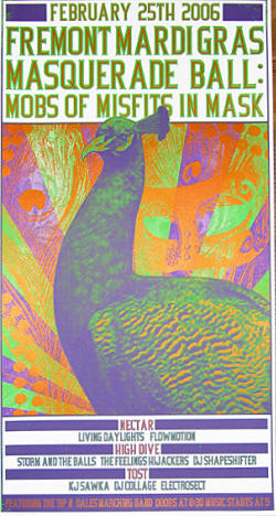 2006 - Poster - TFH / T.F.H (Chris Ballew / PUSA /  presidents & Outtasite)