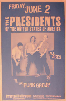 Poster - PUSA / Presidents Of The USA - 06