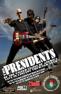 Poster - Presidents Of The USA / PUSA - 08