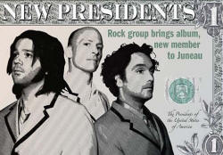 Poster - 2008 Tour / show - Presidents Of the USA / PUSA