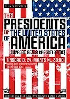 Poster - Presidents Of The USA / PUSA