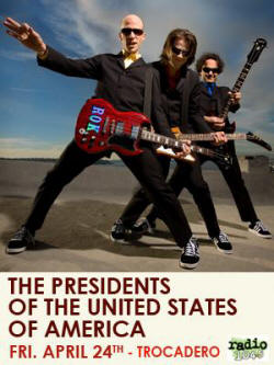 Poster - Presidents Of The USA / PUSA - 09 tour