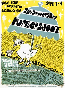 Posteer - Bumbershoot - Seattle - PUSA / Presidents Of The United States Of America