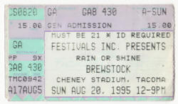 Ticket - Poster - Brewstock - Presidents Of the USA (PUSA)