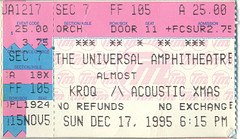 KROQ's Almost Acoustic Christmas - PUSA - Presidents Of The USA - 95