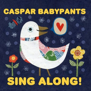 Caspar Babypants - Sing Along! Album - Cover art by Kate Endle