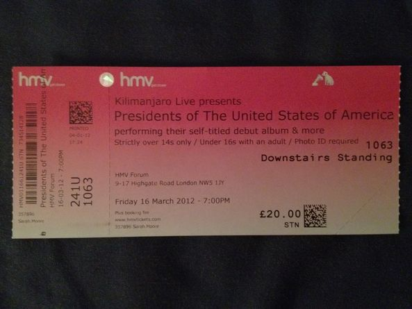 2012-03-16_Presidents_of_USA_PUSA_ticket_HMV_Forum_UK
