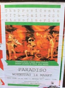 Presidents_of_the_usa_PUSA_Paradiso_Poster_NL_self_titled