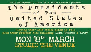 2013-03-18_Presidents_of_the_USA_Poster_Studio The Venue, Newton, Auckland, New Zealand_poster2.jpg